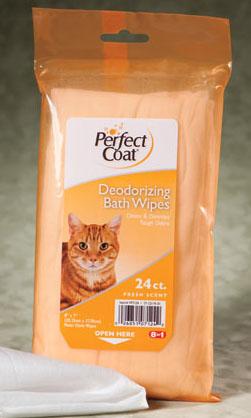 cat bath wipes