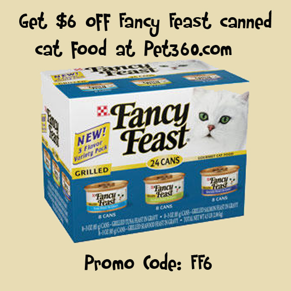 Fancy feast cat food coupons 2018