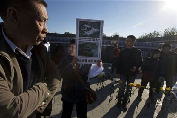 Cat Killings Temple of Heaven Protesters