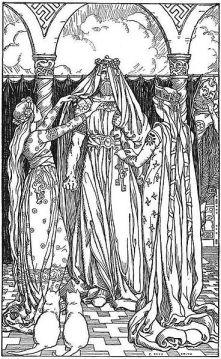 Norse Goddess Freya - Thor imperonating Freya