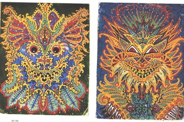Louis Wain Later Cats
