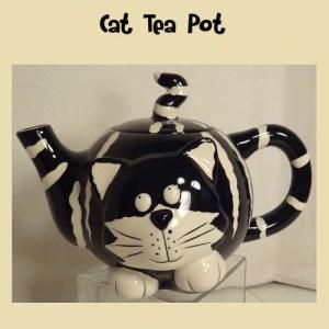 Christmas Cat Lovers Cat Teapot