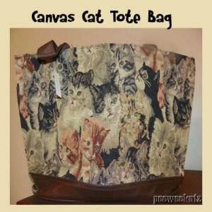 Christmas Cat Lovers Cat Tote Bag