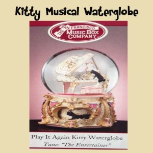 Christmas Cat Lovers Kitty Waterglobe