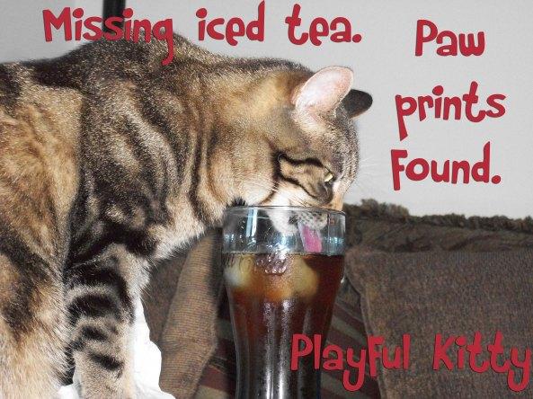 Hemingway 6 word story Iced Tea