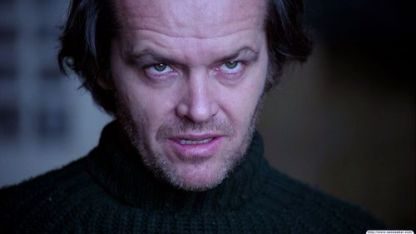 "Jack Nicholson ""The Shining"""