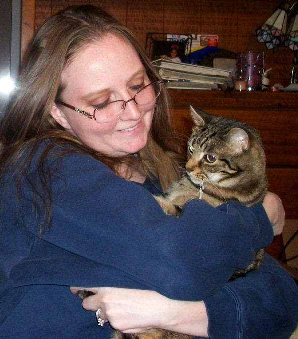 Why I love my cats -Manna in my Arms